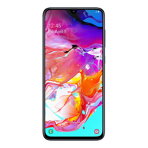 "Samsung Galaxy A70 Black 128GB 8GB 32MP 6.7"" 4500mAh 4G Dual SIM"
