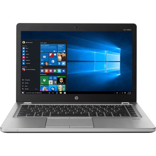 "HP EliteBook Folio 9480 i7 4th Gen 2.1GHz 500GB 4GB 14"" W10 Pro"