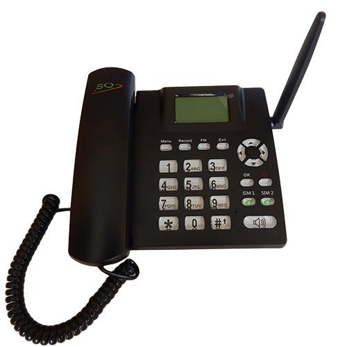 SQ LS 930 Fixed Wireless Landline Phone GSM SMS FM Micro SD Sound
