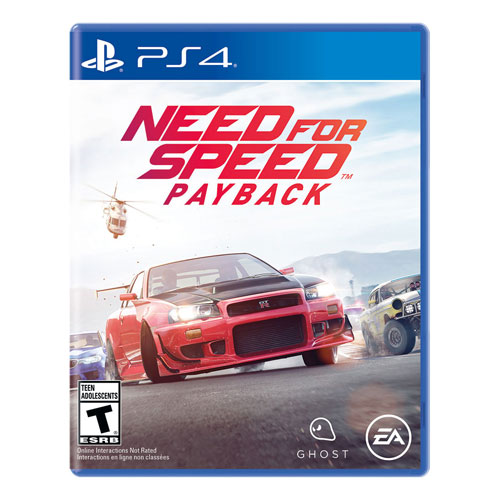 Need for Speed NFS Payback PlayStation 4 PS4 Racing Game