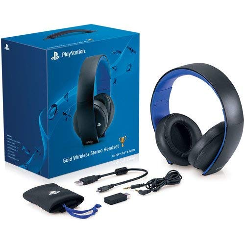 Playstation 4 PS4 Wireless Stereo Gold Headphone