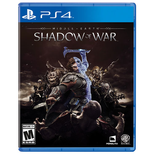 Middle earth Shadow of War PlayStation 4
