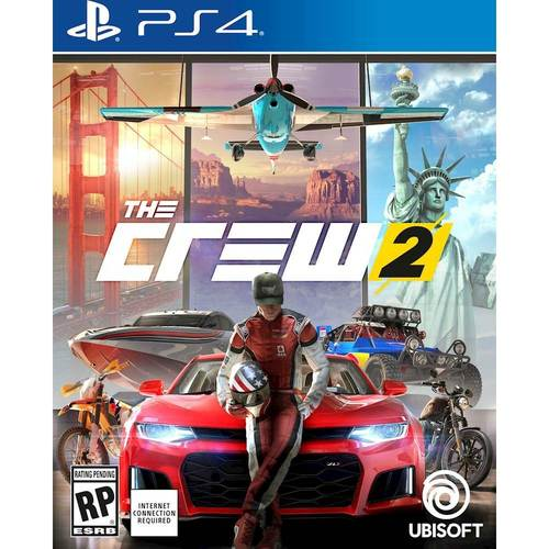 The Crew 2  PlayStation 4 PS4 Racing Game