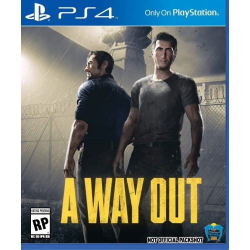 A Way Out PlayStation 4 PS4 Game